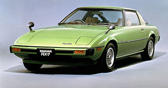 Starts selling RX-7 (known as Savanna RX-7 in Japan)
